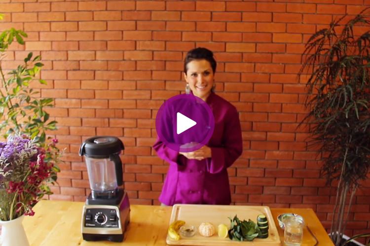 Smoothie de proteína de Hemp por Amatuvida.tv